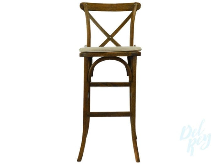 Cross Back Farm Bar Stool