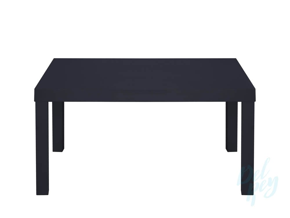 Black Rectangular Coffee Table