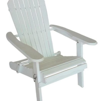 White Adirondack Chair Del Rey Party Rentals