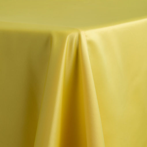 Yellow Satin Lamour Del Rey Party Rentals